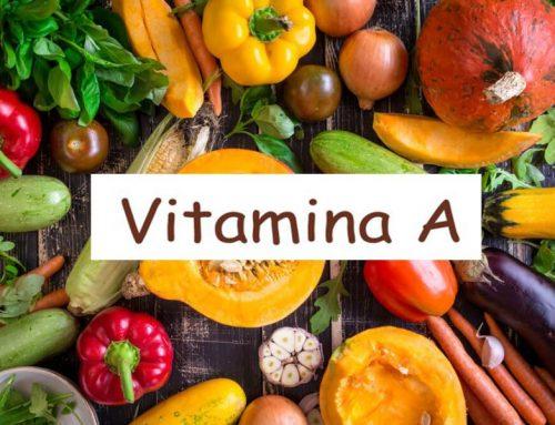 Vitamina A o Retinolo : funzioni e problemi causati da carenza
